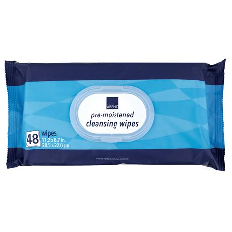 Buy Abena Pre-Moistened Cleansing Wipes
