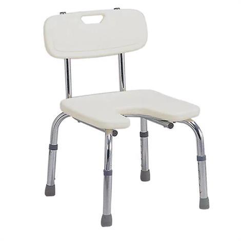Mabis DMI Hygienic Bath Seat with Backrest