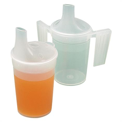 Polypropylene Plastic Feeding Cup With Long Spout