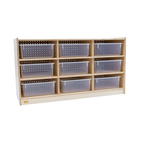 Buy Childrens Factory Angeles 9 Tray Storage Cabinet