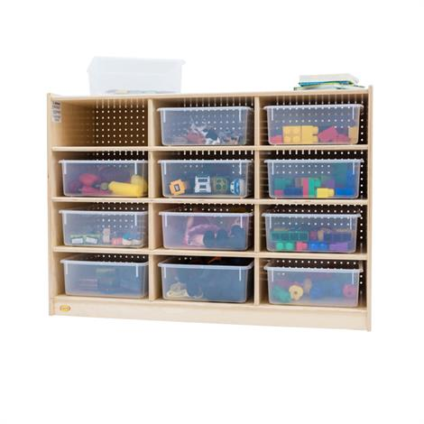 Buy Childrens Factory Angeles 12 Tray Storage Cabinet