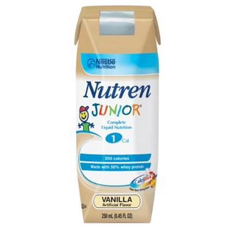 Nestle Nutren Junior Complete Liquid Nutrition for Children With SpikeRight Plus Port