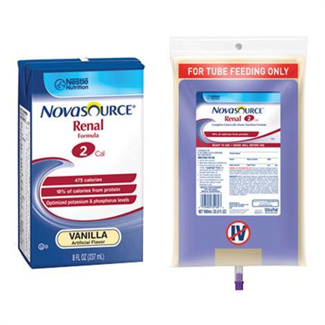 Nestle Novasource Renal Complete Liquid Nutrition With SpikeRight Plus Port