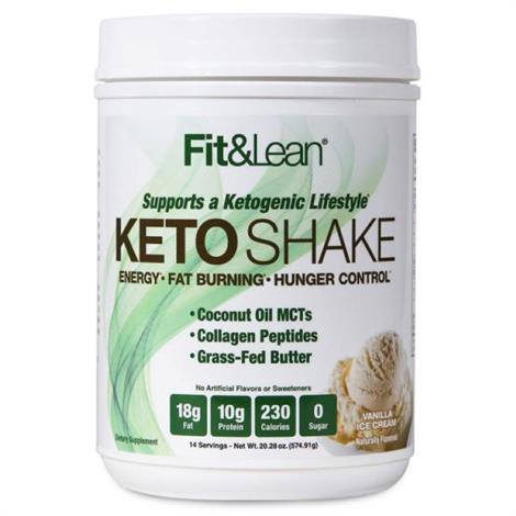 Fit & Lean KETO SHAKE Dietary Supplement