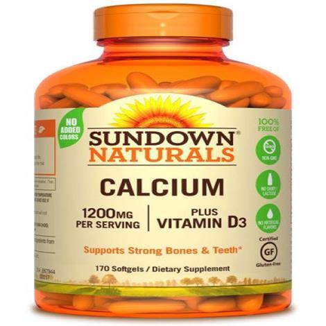 Buy Sundown Naturals Calcium 1200 PLUS D Dietary Supplement