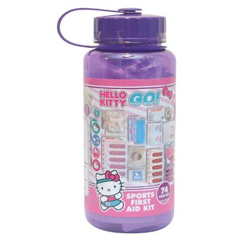 Cosrich 74 Piece Hello Kitty Sport Bottle First Aid Kit