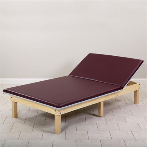 Clinton Classic Upholstered Mat Platform With Adjustable Backrest