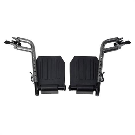 Medline Swing Away Composite Wheelchair Footrest