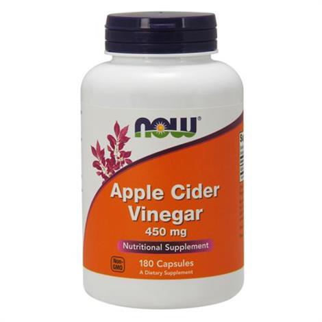 Buy Now Apple cinder vinegar nutritional supplement