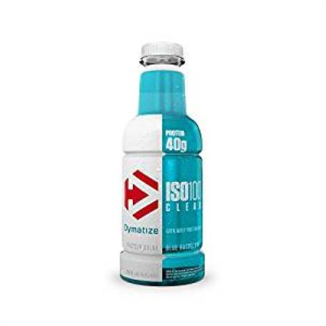 Dymatize ISO100 Clear Protein Drink Dietary Supplement