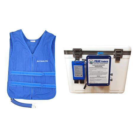 Polar CoolOR Body Cooling 19 Quart Cooler System with Heavy-Duty CFA-HD Cooling Vest