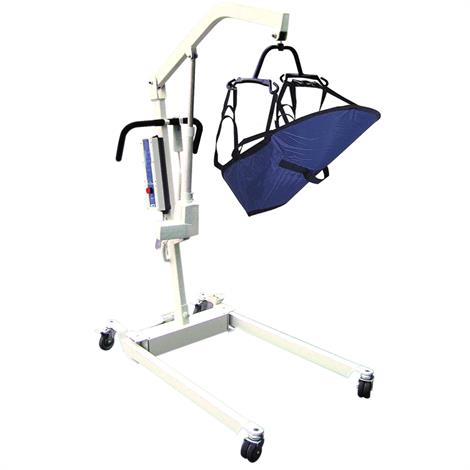 Drive Bariatric Battery Powered Patient Lift with Four Point Cradle and Wall Mount