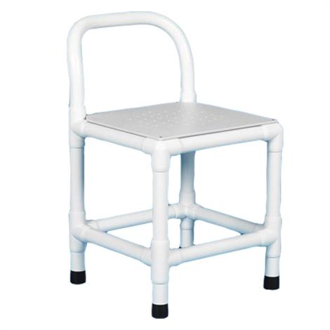Buy Duralife Shower Chair With Fixed Legs And Perforated Plastic Seat