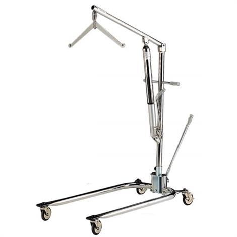 Hoyer Classics Hydraulic Chrome Manual Patient Lift