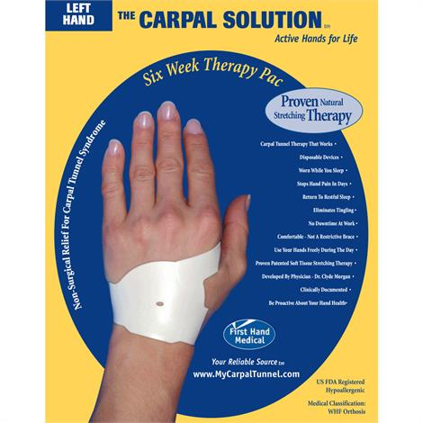 The Carpal Solution Carpal Tunnel Wrist Support