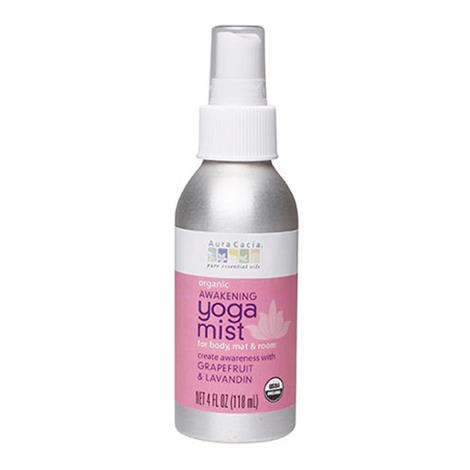 Aura Cacia Organic Grapefruit And Lavandin Orange Yoga Mist