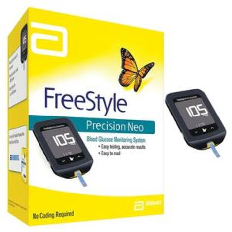Buy Abbott FreeStyle Precision Neo Blood Glucose Monitoring Meter Kit