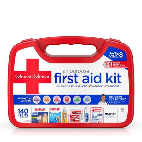 Buy Johnson & Johnson All-Purpose First Aid Kit