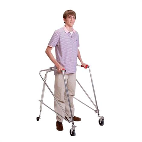 Buy Kaye Posture Control Four Wheel Walker With Front Swivel And Silent Rear Wheel For Pre Adolescent