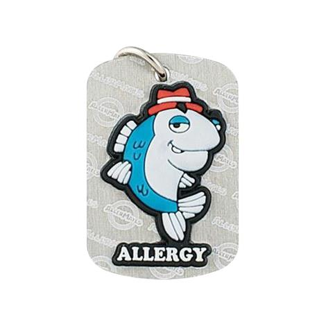 Buy AllerMates Dog Tag Detective Fin Fish Allergy
