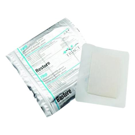 Hollister Restore TRIO Absorbent Adhesive Dressing with TRIACT Technology