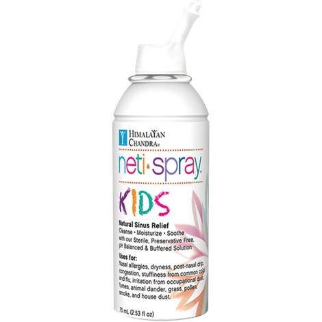 Buy Himalayan Chandra Nasal Care Kids Saline Neti Spray