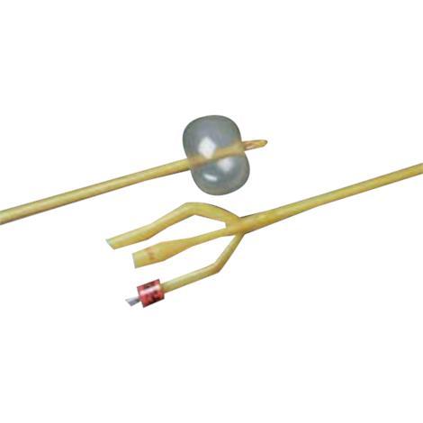 Bard Lubricath Three-Way Standard Specialty Foley Catheter With 30cc Balloon Capacity