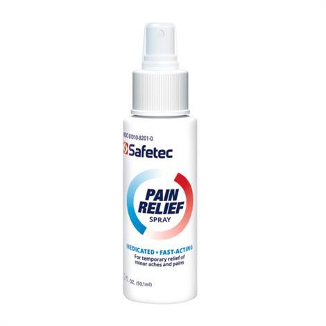 Safetec Pain Relief Spray
