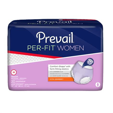 Prevail Per-Fit Underwear For Women - Moderate/Max Absorbency