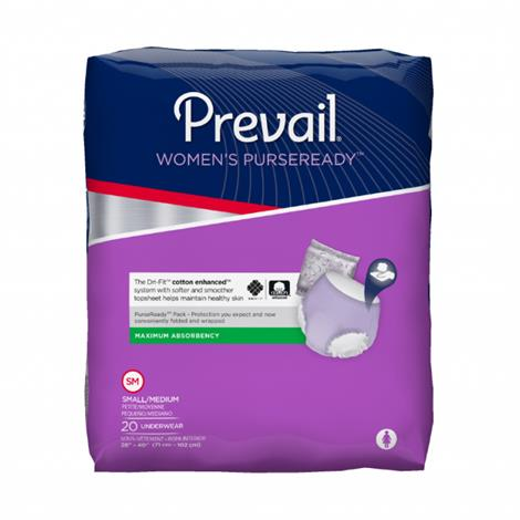 Prevail PurseReady Women Underwear - Maximum Absorbency