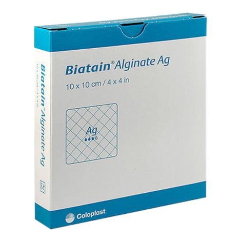 Coloplast Biatain Alginate Ag Dressing with Silver