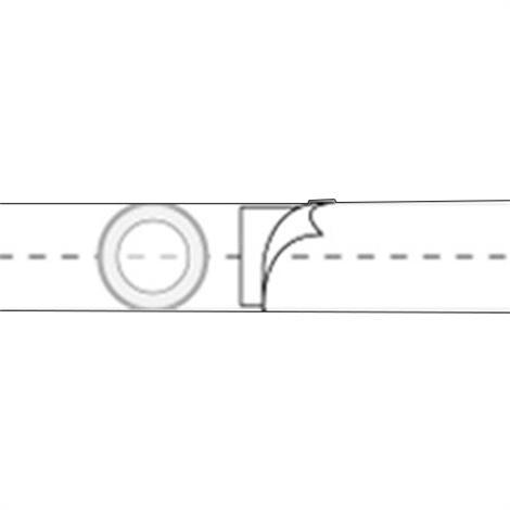 Nu-Hope Nu-Form 4 Inches Regular Elastic Ostomy Support Belt