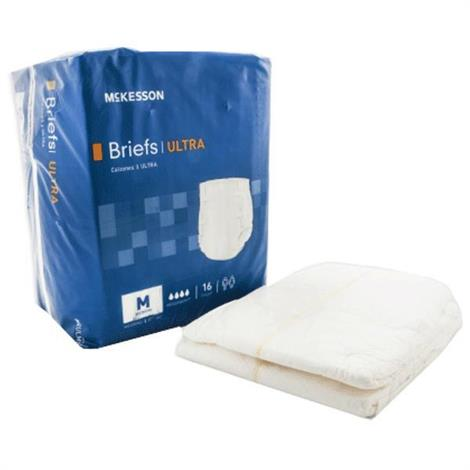 McKesson Ultra Absorbency Tab Closure Adult Disposable Briefs