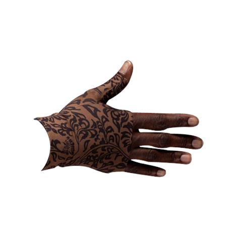 LympheDivas Damask Mocha Compression Gauntlet