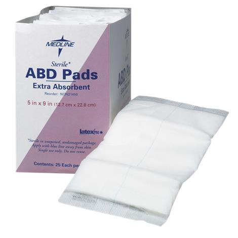 Medline Super Absorbent Abdominal Pads