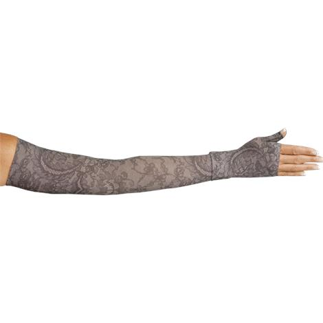 LympheDivas Midnight Lace Compression Arm Sleeve And Gauntlet