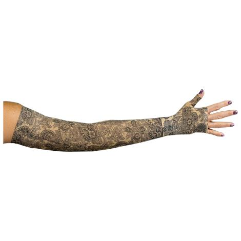 LympheDivas Black Paisley Compression Arm Sleeve And Gauntlet