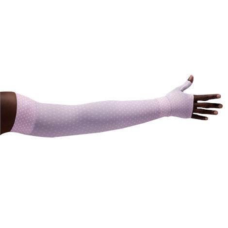 LympheDivas Diva Dots Compression Arm Sleeve And Gauntlet