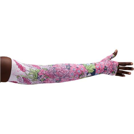 LympheDivas Bloomin Betty Dark Compression Arm Sleeve And Gauntlet