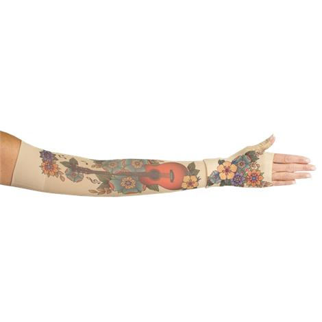 LympheDivas Music City Compression Arm Sleeve And Gauntlet