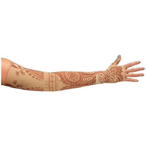 LympheDivas Bodhi Beige Compression Arm Sleeve And Gauntlet