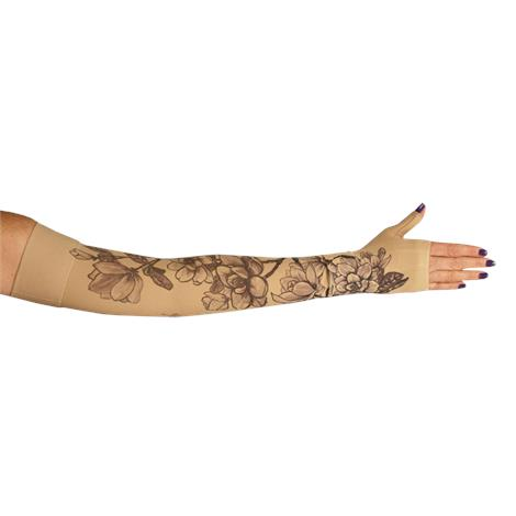 LympheDivas Magnolia Compression Arm Sleeve And Gauntlet