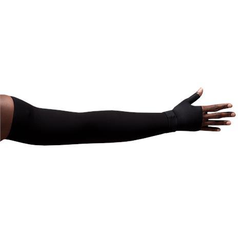 LympheDivas Onyx Compression Arm Sleeve And Gauntlet