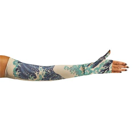 LympheDivas Great Wave Compression Arm Sleeve And Gauntlet