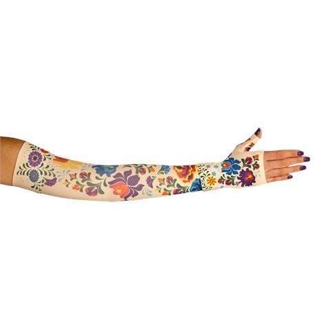 LympheDivas Flora Compression Arm Sleeve And Gauntlet