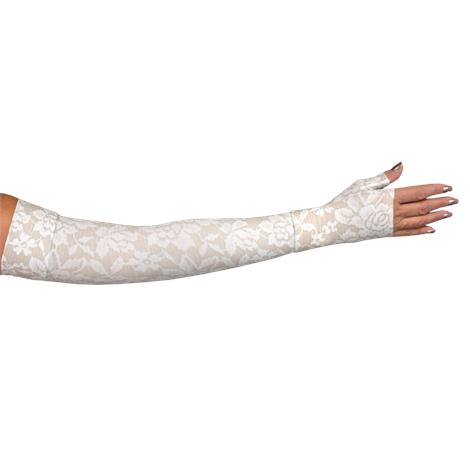 LympheDivas Darling Dark Compression Arm Sleeve And Gauntlet