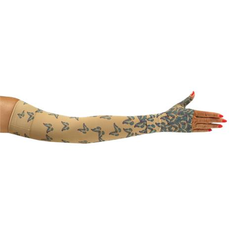 LympheDivas Flutter Compression Arm Sleeve And Gauntlet
