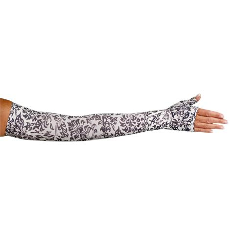 LympheDivas Damask Compression Arm Sleeve And Gauntlet