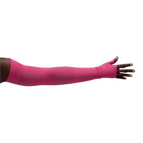 LympheDivas Fuchsia Compression Arm Sleeve And Gauntlet