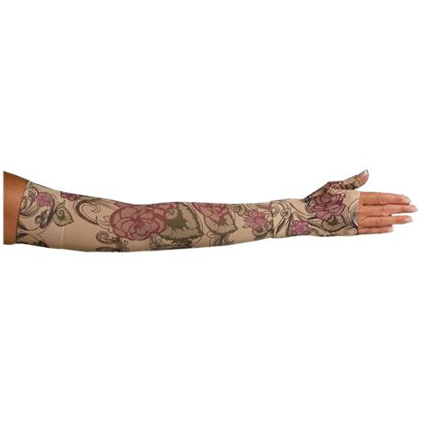 LympheDivas Begonia Compression Arm Sleeve And Gauntlet
